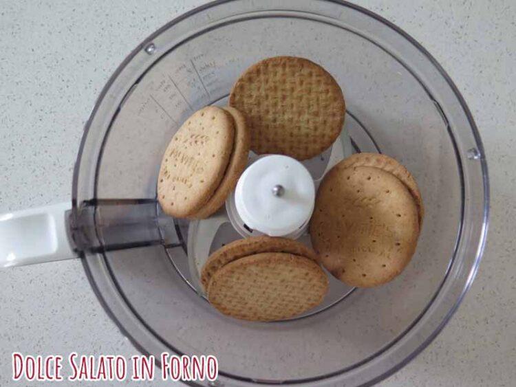 trita biscotti secchi