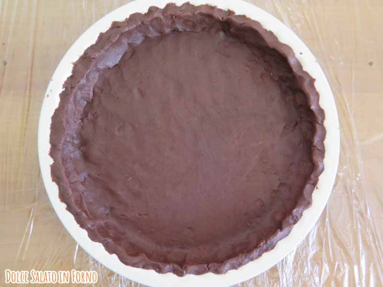 crostata al cacao senza glutine