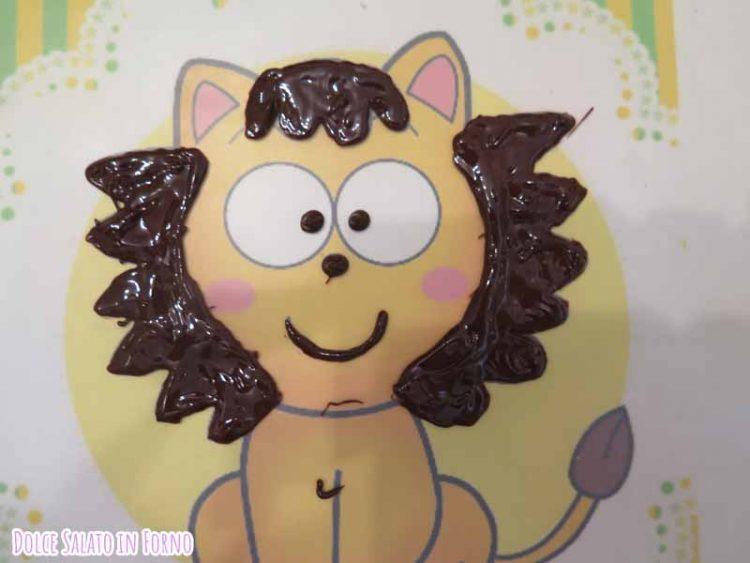 decorazione Pokotà in cioccolato