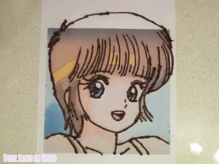 Decorazione Hikaru Hiyama/Tinetta è quasi magia Johnny