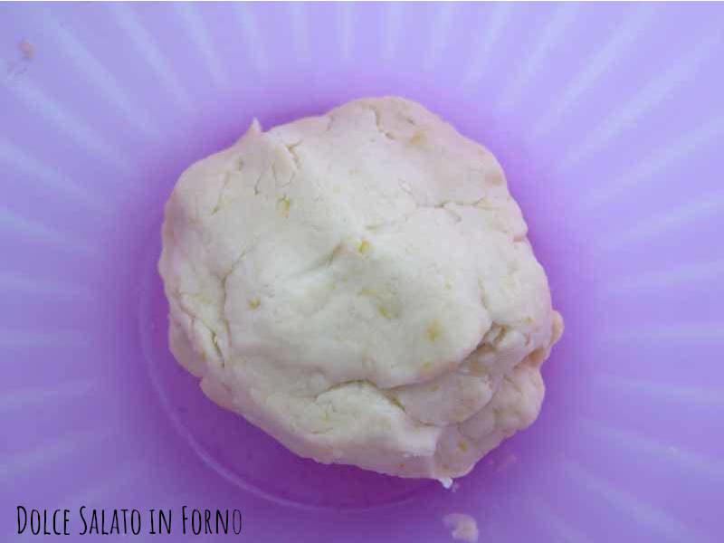 Impasto biscotti secchi