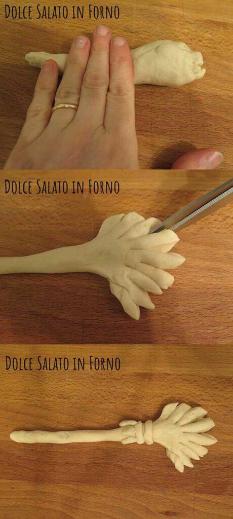 Modellare scopa pane
