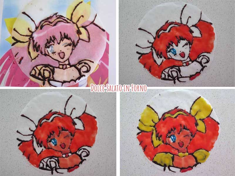 Disegnare Momoko Hanasaki SunRose