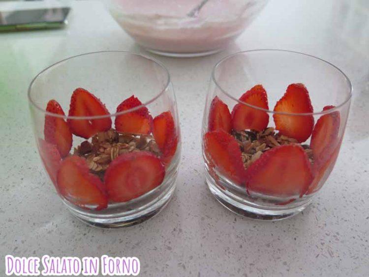 bicchieri fragole