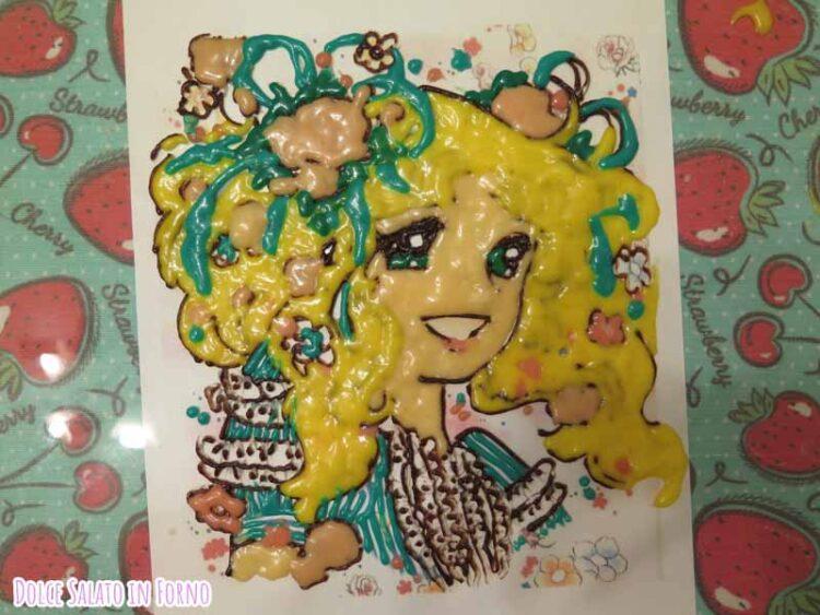 decorazione Candy Candy per torta