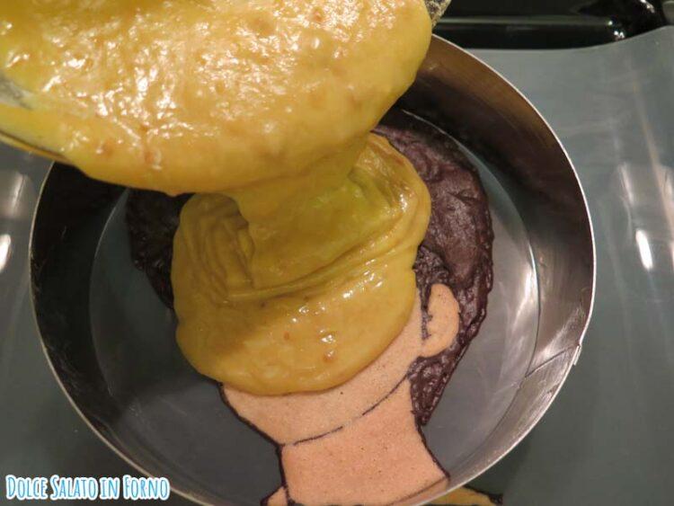 Johnny Kyosuke Kasuga decorazione impasto torta