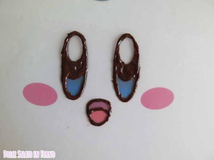 decorazione cioccolato Kirby