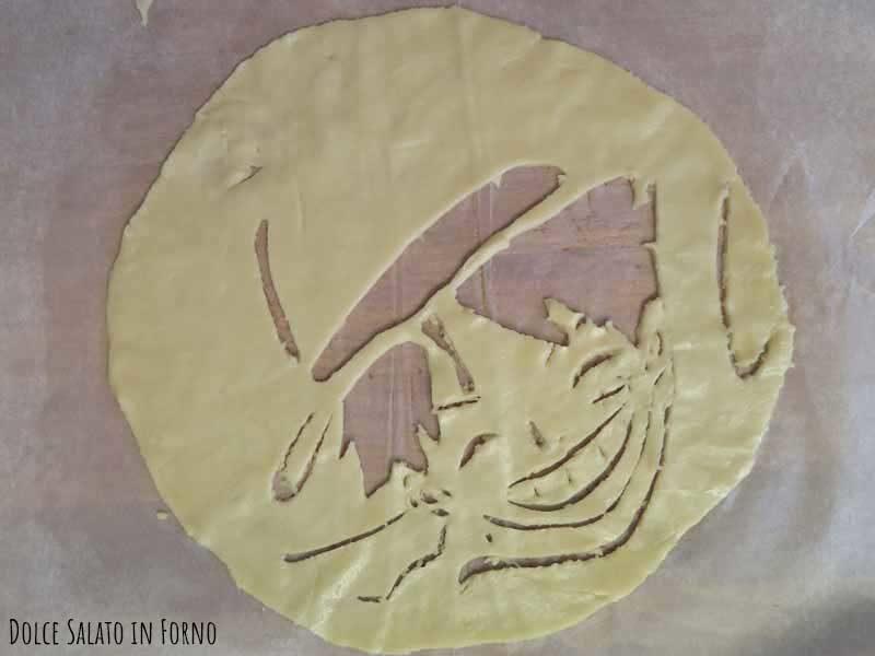 Monkey D. Luffy One Piece di pasta brisé