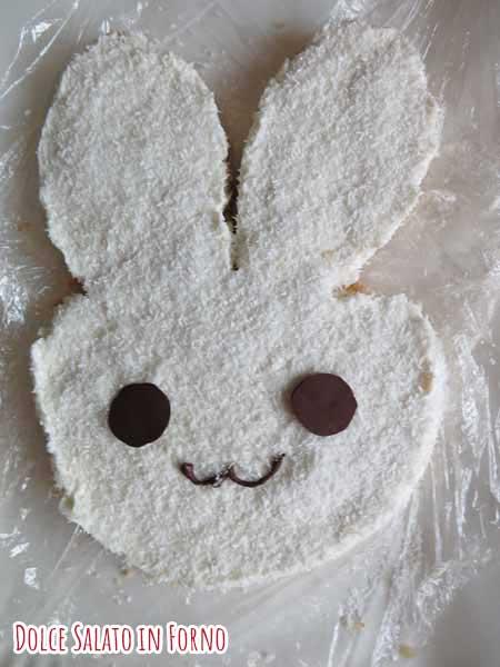 occhi e muso cioccolato coniglio
