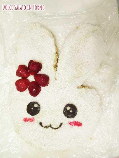 Fragole fiocco coniglio