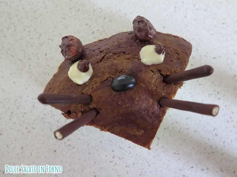 Torta alla menta e cioccolato Totoro