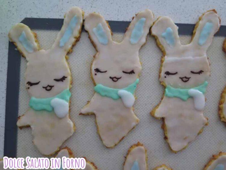 glassare i biscotti a forma di Momo di Card Captor Sakura