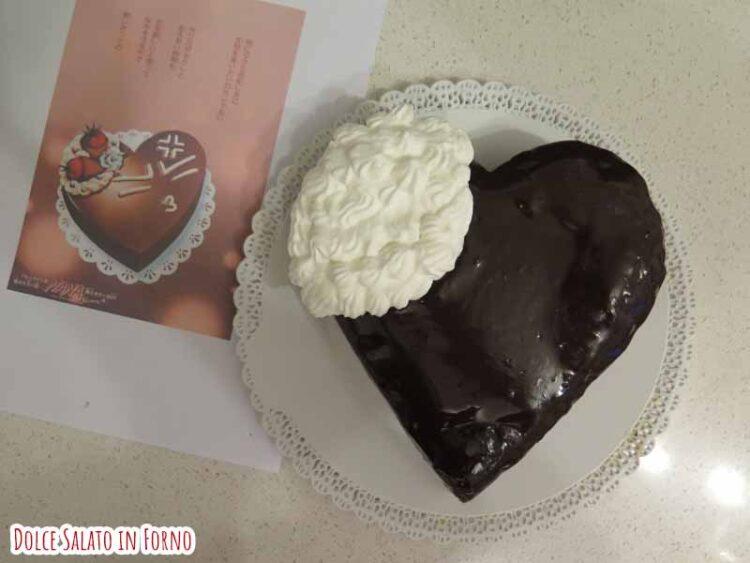decorare brownie cioccolato con panna
