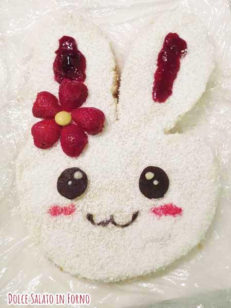 Orecchie coniglio marmellata lamponi