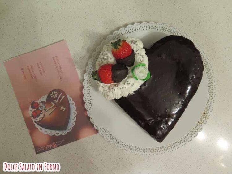 decorare brownie al cioccolato fondente