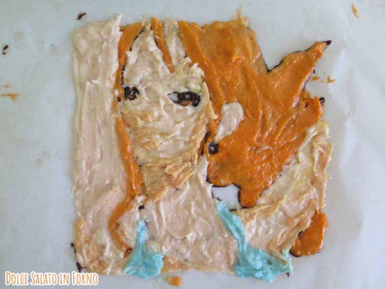 decorazione Nami biscotto tegola al burro senza glutine