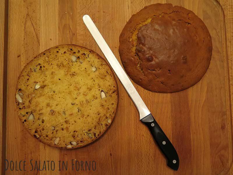 Tagliare cupola torta
