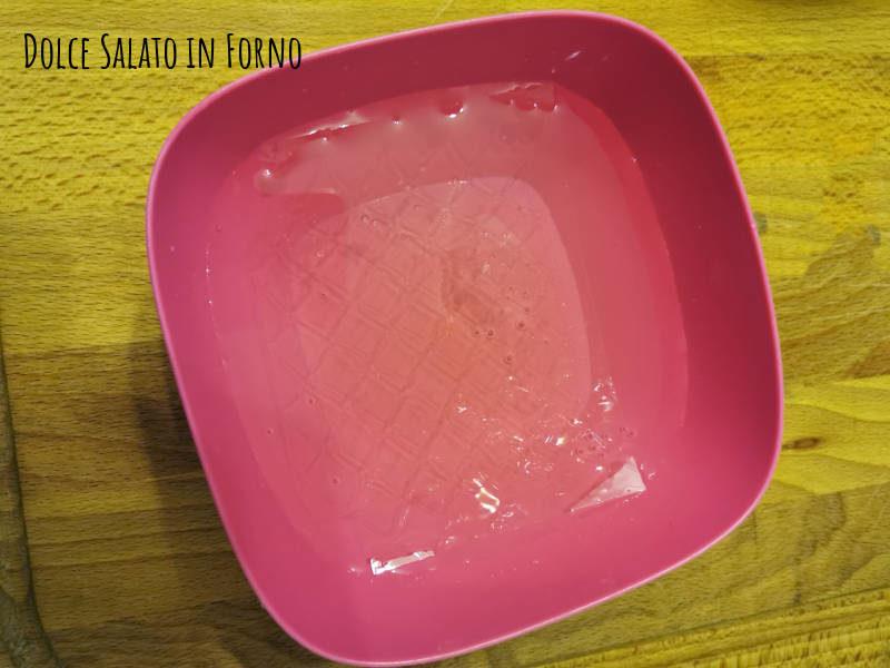 ammollare gelatina
