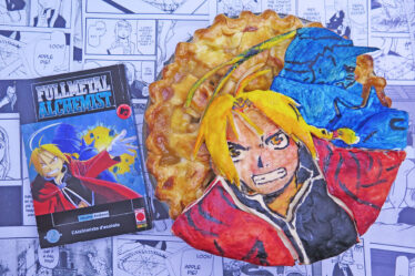 Apple pie di Edward e Alphonse Elric di Full Metal Alchemist