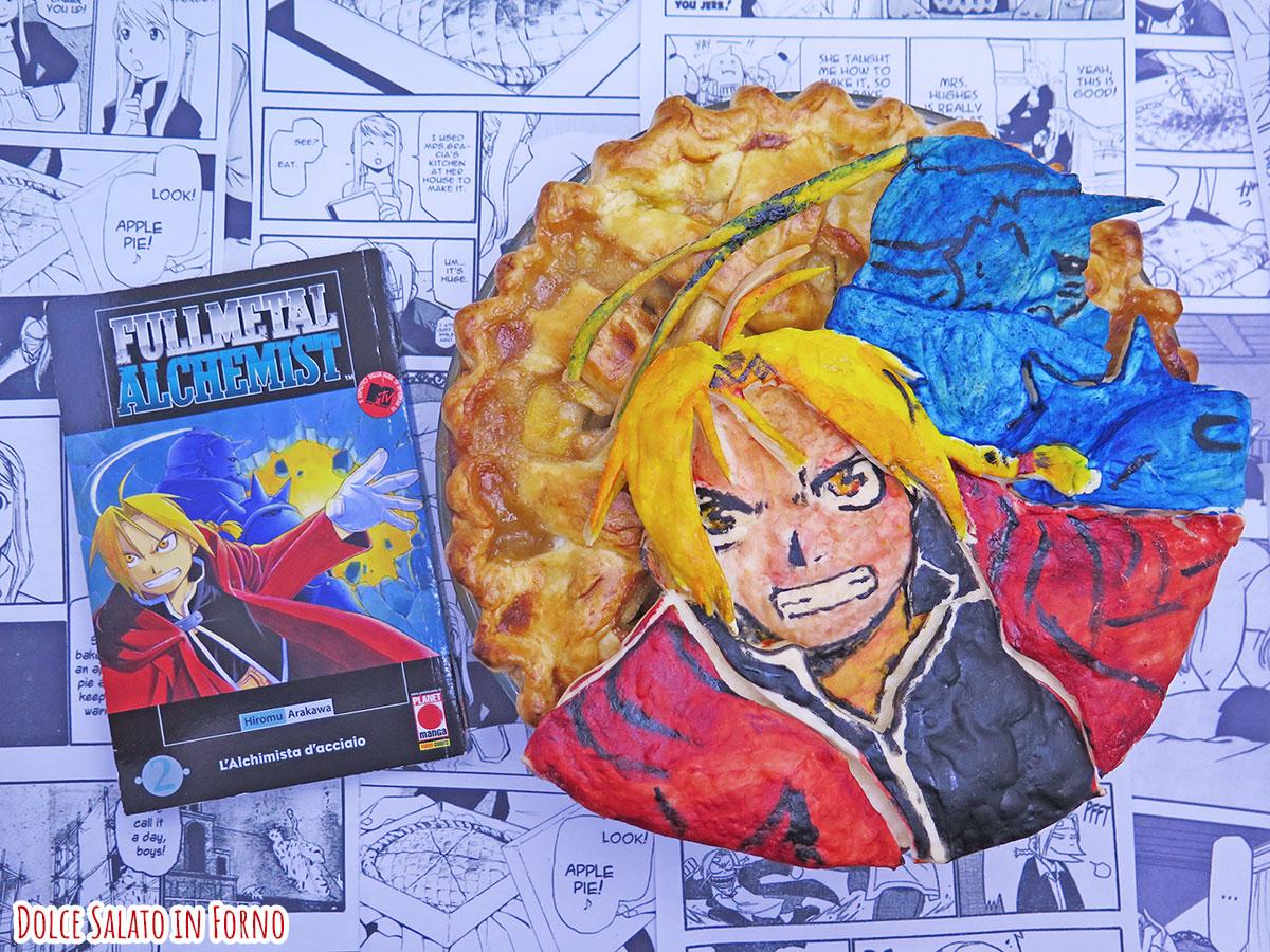 Apple pie di Edward e Alphonse Elric di Full Metal Alchemist