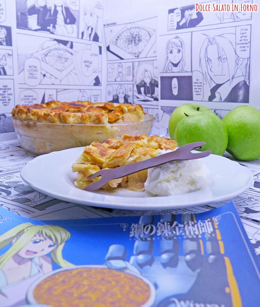 Apple pie di Winry di Full Metal Alchemist