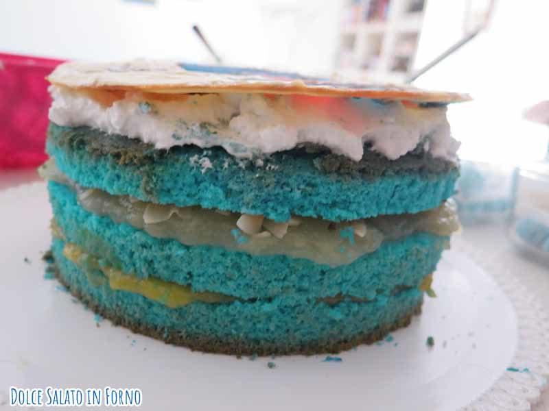 Assemblare torta Sailor Mercury