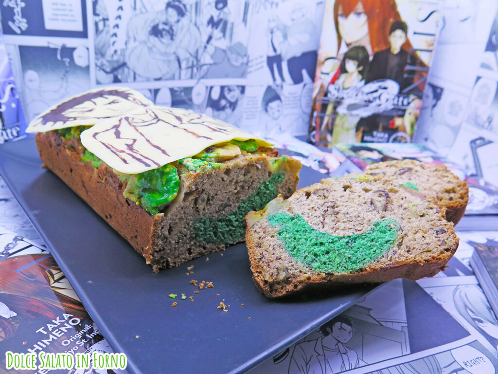 banana bread con sorpresa di Rintaro Okabe Steins Gate