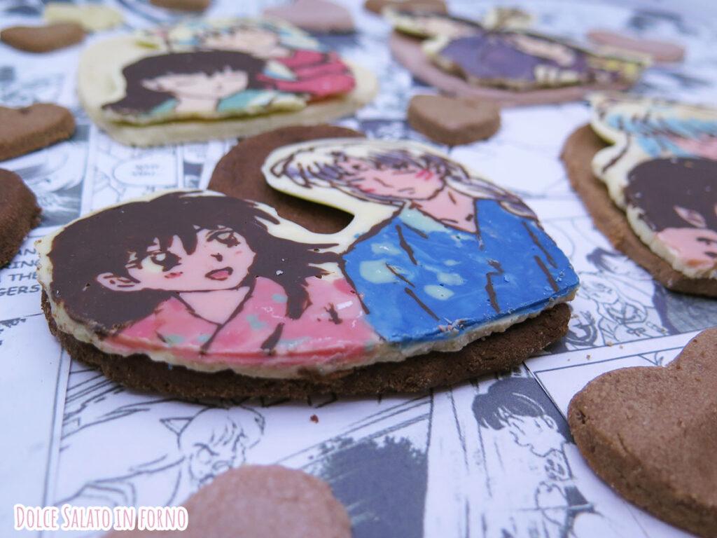Biscotti al cioccolato facili e veloci di Rin e Sesshomaru