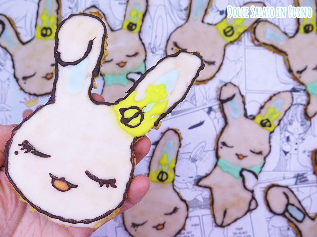 Biscotti alle carote mandorle a forma di Momo di Card Captor Sakura Clear Card