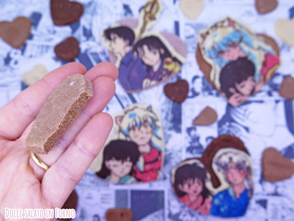 Biscotti al cioccolato facili e veloci di Inuyasha
