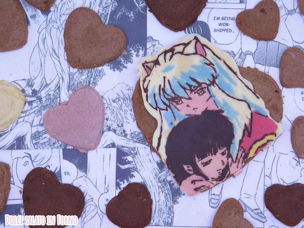 Biscotti al cioccolato facili e veloci di Inuyasha e Kikyo