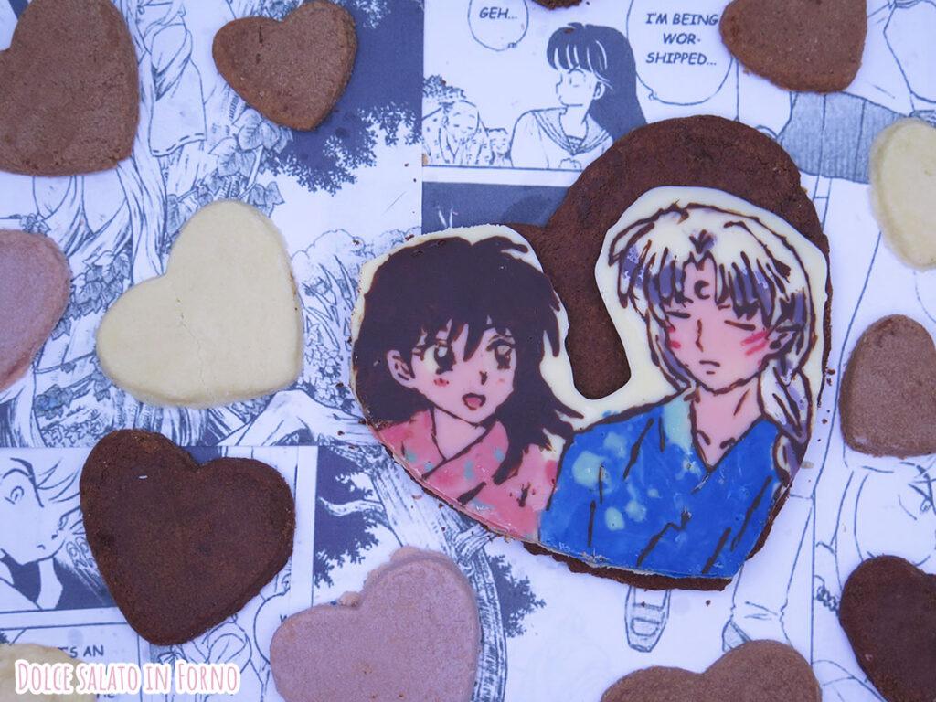 Biscotti al cioccolato facili e veloci di Rin e Sesshomaru di Inuyasha