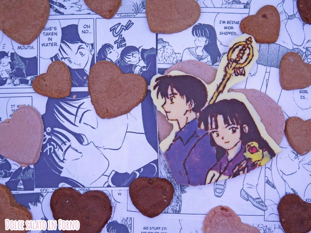 Biscotti al cioccolato facili e veloci di Sango e Miroku Inuyasha