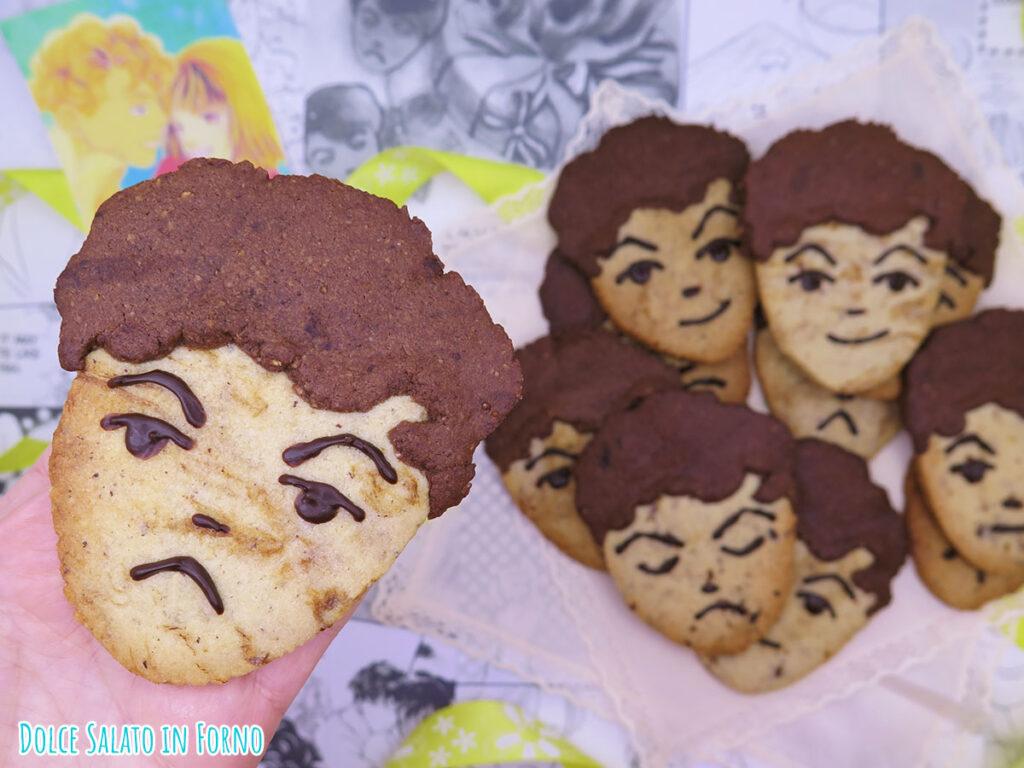 Biscotti frollini alle nocciole, cacao e caffè di Tsukasa Domyoji