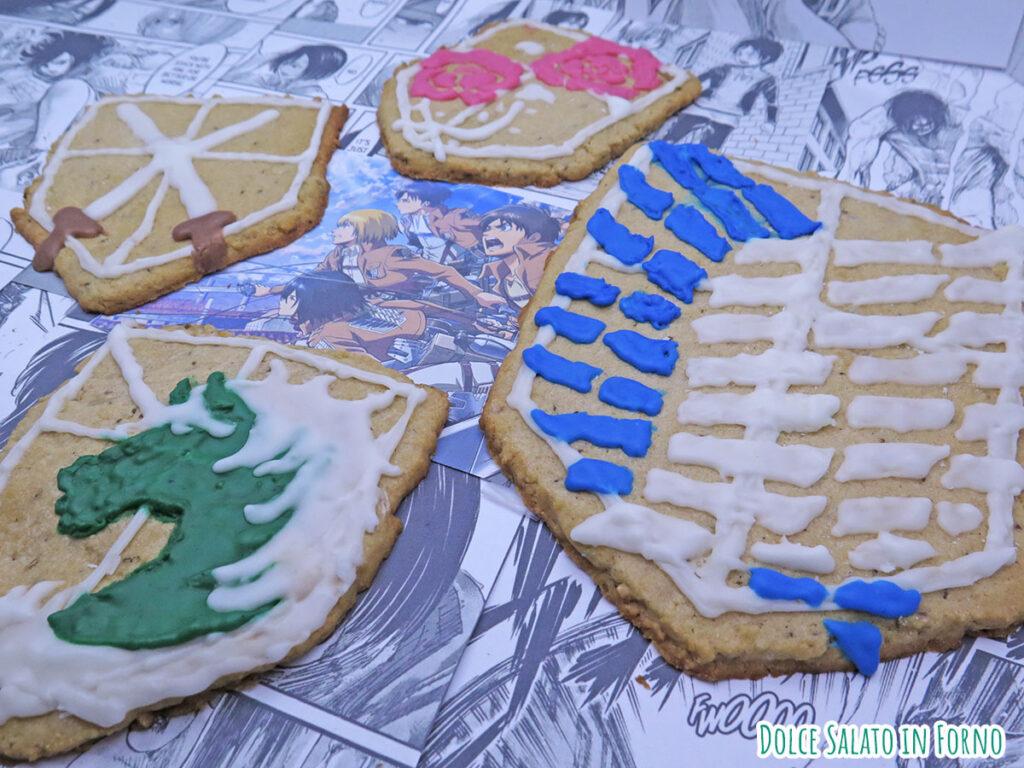 Biscotti natalizi speziati di Attack on Titan
