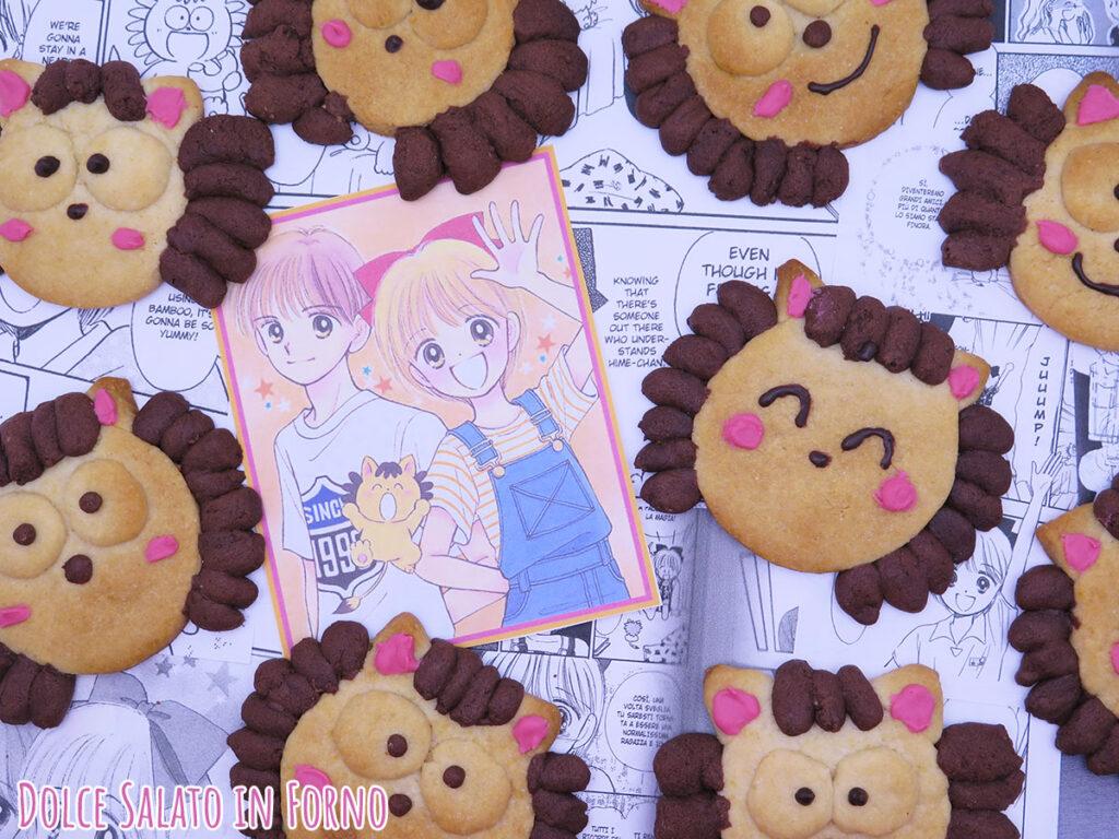 Biscotti alla panna e cacao Pokotà di un fiocco per sognare un fiocco per cambiare