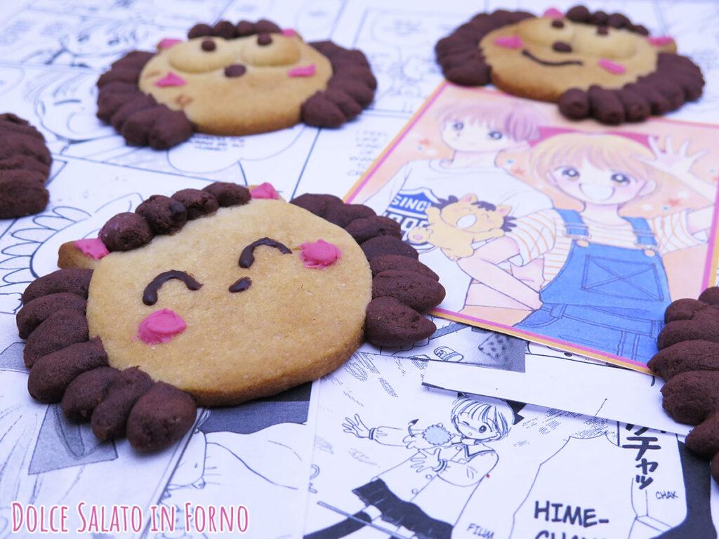 Biscotti alla panna e cacao Pokotà di Hime-chan No Ribbon
