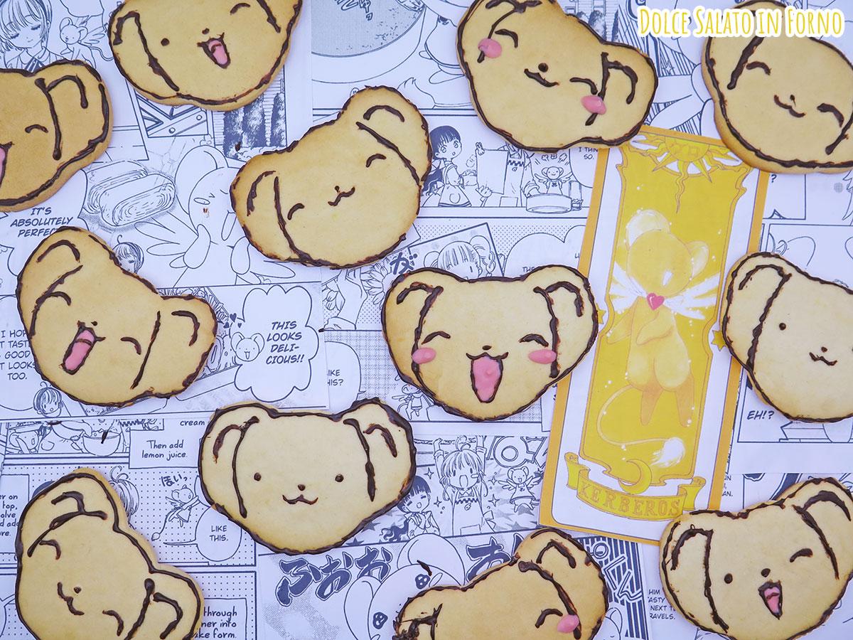 Biscotti alla panna tipo macine di Kero chan di Card Captor Sakura