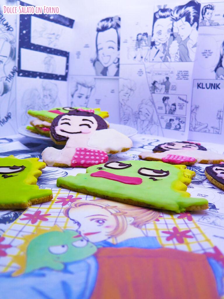 Biscotti sablé al pistacchio angelo Saejima Sudosauro Non sono un angelo