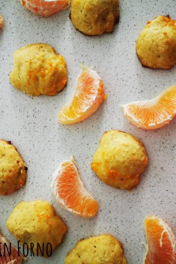 Biscotti semplici e veloci ricotta e arancia