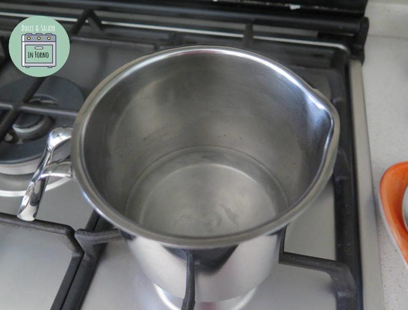 Bollire ingredienti