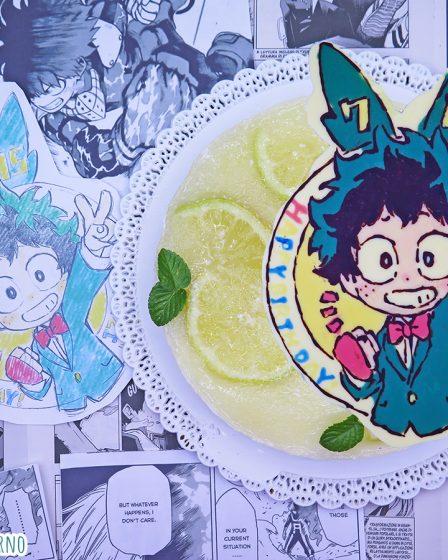 Cheesecake al limone di Izuku Midoriya Deku