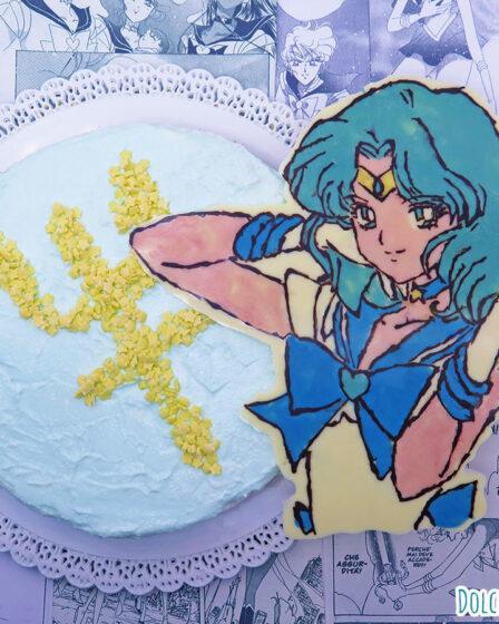 Cheesecake ricotta menta cocco e cioccolato di Sailor Neptune Michiru Kaioh