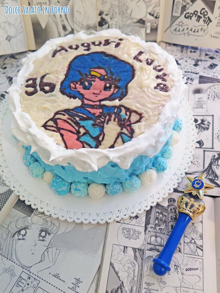Chiffon cake cocco ananas e lime di Sailor Mercury