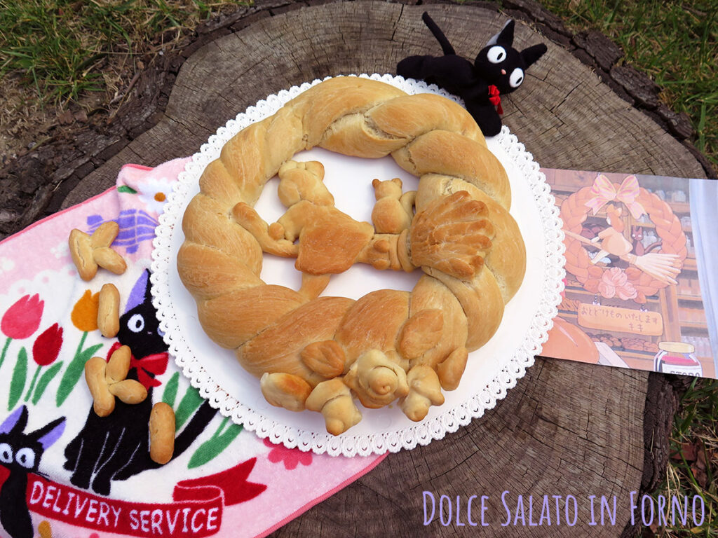 Corona di pane Kiki's Delivery Service