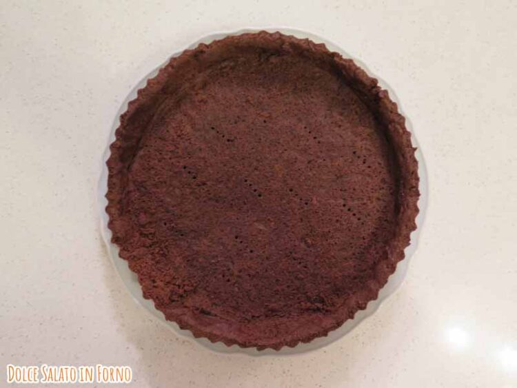 crostata cacao arancia cannella