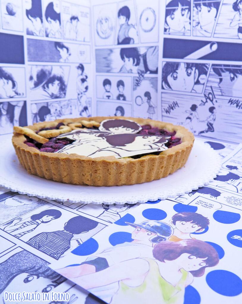 Crostata di ciliegie fresche di Tatsuya, Minami e Kazuya
