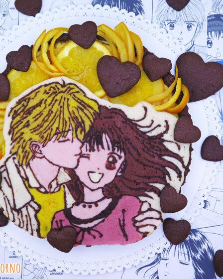 crostata cioccolato arancia cannella di Miki e Yu di Marmalade Boy