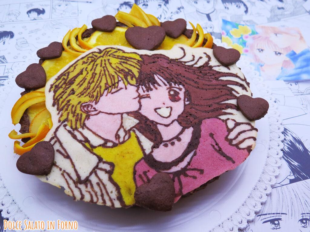crostata cioccolato arancia cannella di Miki e Yuri Piccoli problemi di cuore