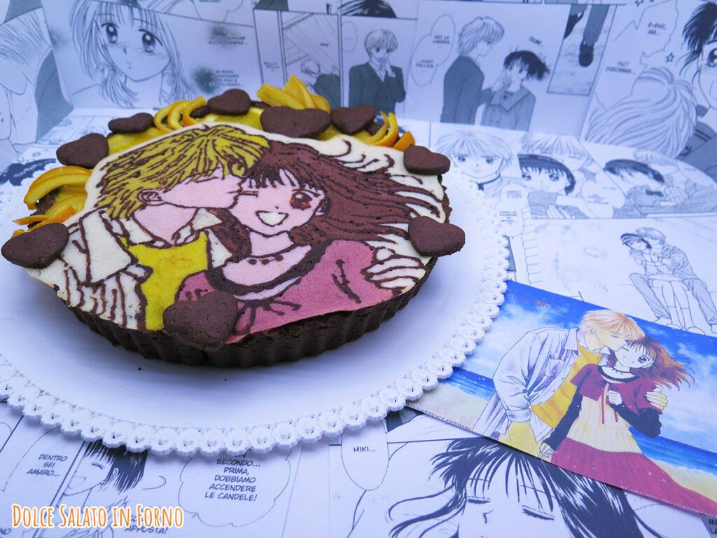 crostata cioccolato arancia cannella di Miki e Yuri di piccoli problemi di cuore